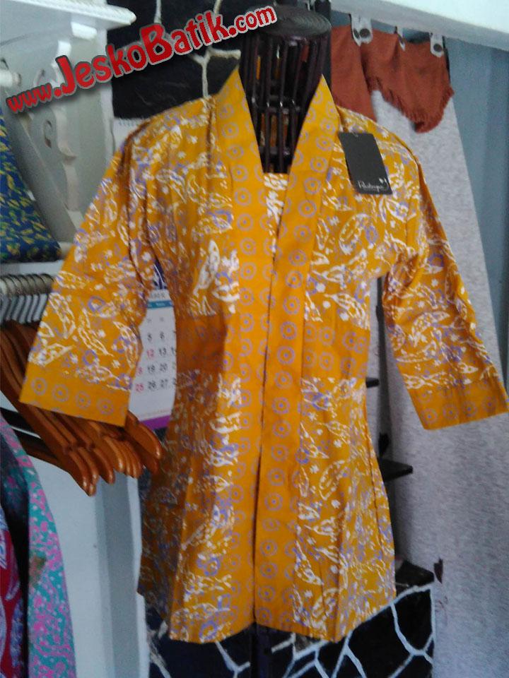 blus batik kutubaru blus kerja kutu baru blouse batik cap pekalongan