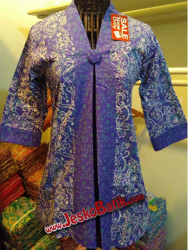 blouse batik pekalongan batik cap blus batik blus kerja