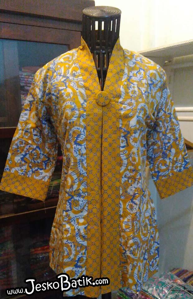 blouse batik pekalongan blus batik cap