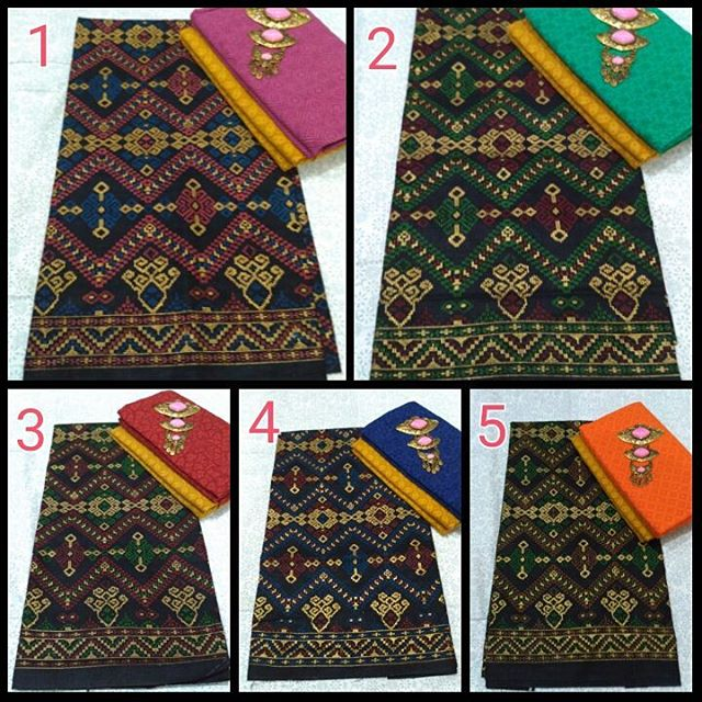 Satu Set Kain Batik Prodo dan Kain Batik Embos KA3.5
