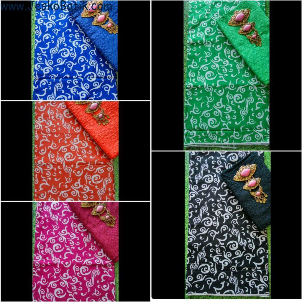 Paket Kain Batik dan Kain Embos KA13