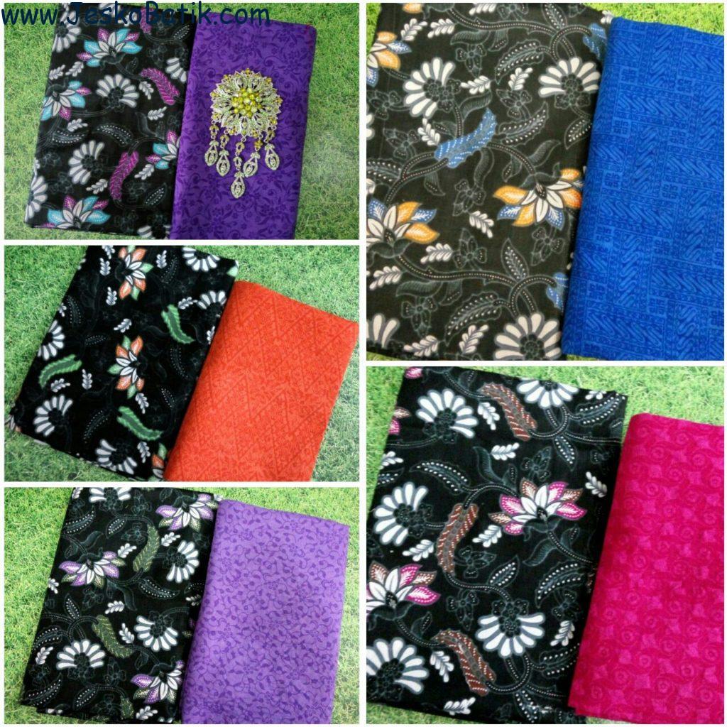 Paket Kain Batik dan Kain Embos KA12