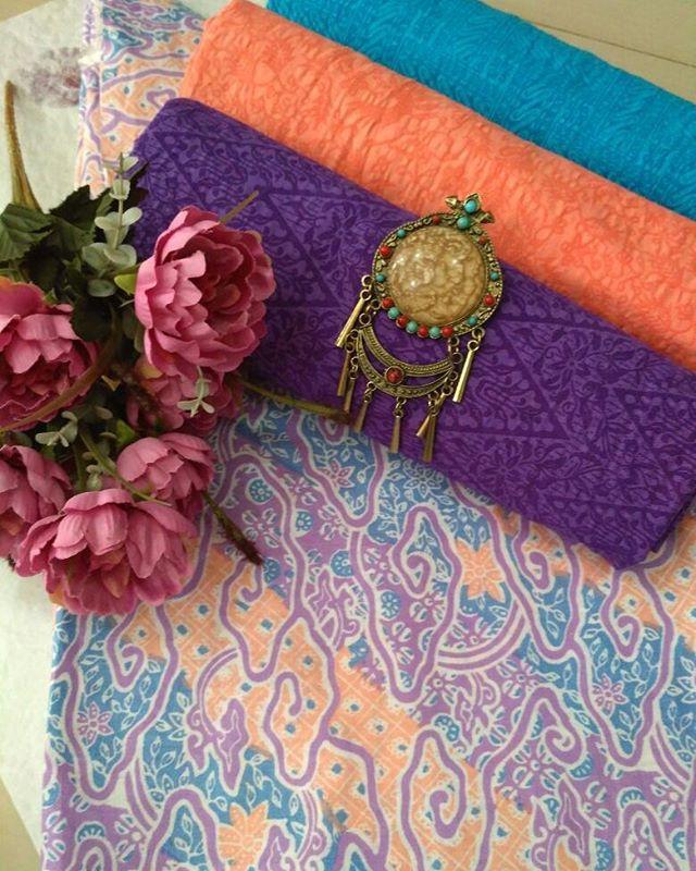kain batik motif mega mendung soft