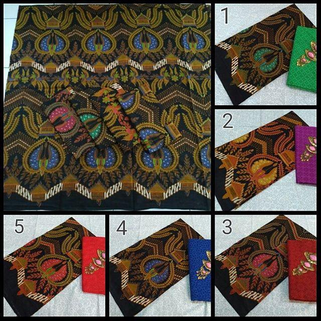kain batik pekalongan motif batik jokowi