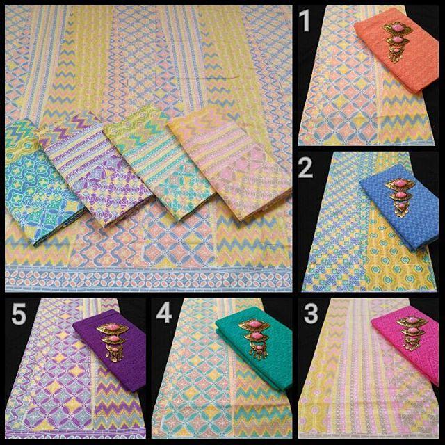 kain batik pekalongan batik soft kombinasi kain embos