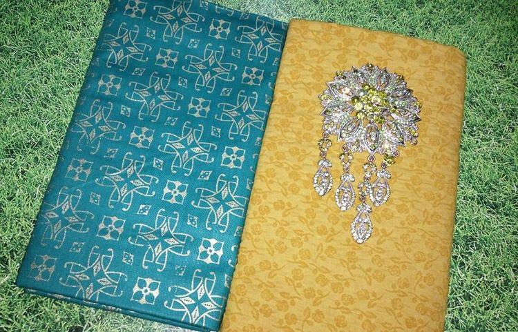 Kain Batik Pekalongan – Batik Prada Kombinasi Kain Batik Embos KA3.9