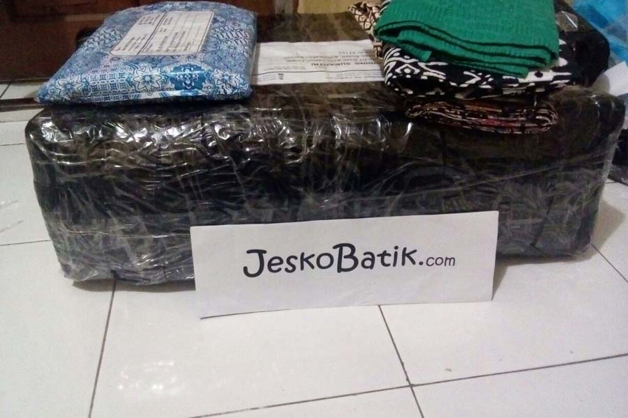 packing batik pekalongan