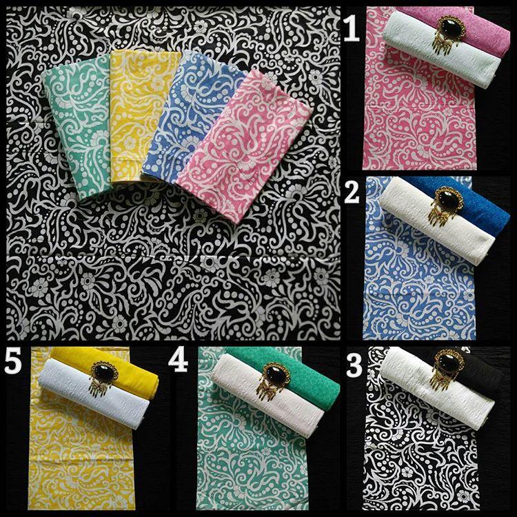 koleksi lengkap kain batik embos