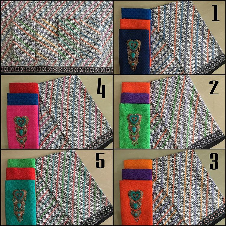 kain batik pekalongan kombinasi kain embos