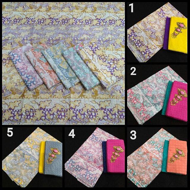 kain batik pekalongan batik soft kombinasi kain batik embos