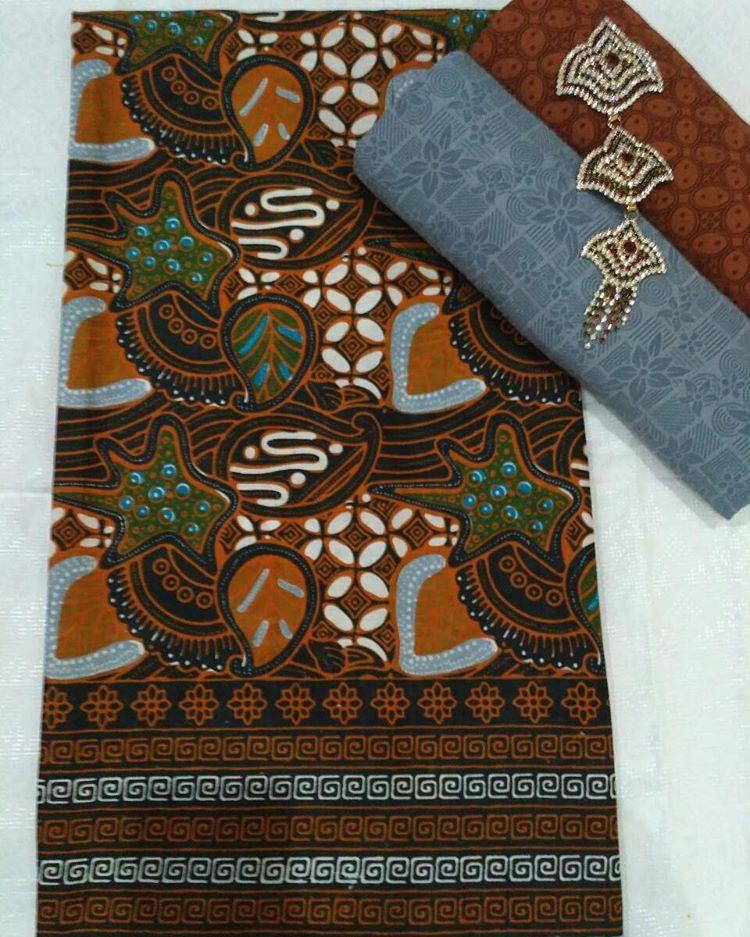 kain batik pekalongan motif sogan colet