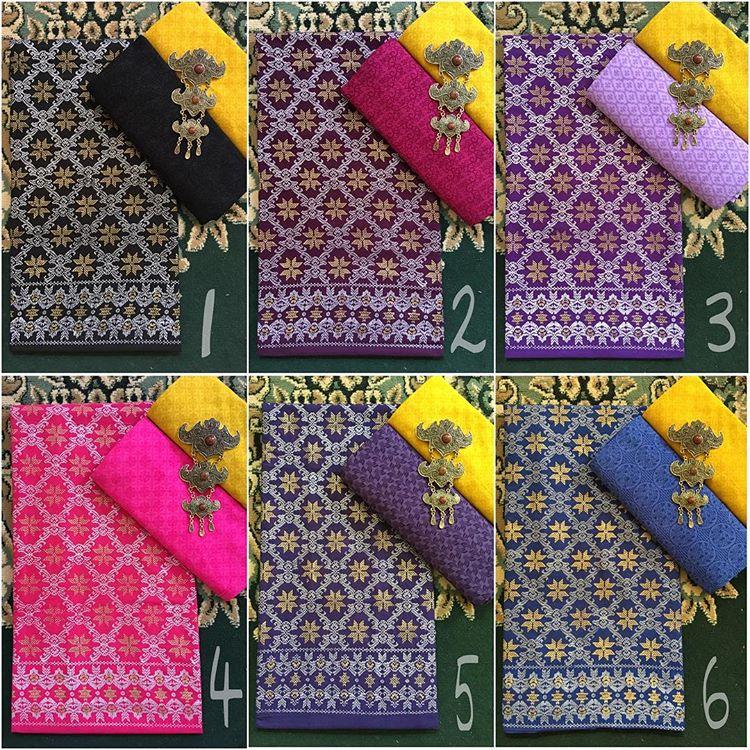batik prada pekalongan kombinasi kain batik embos