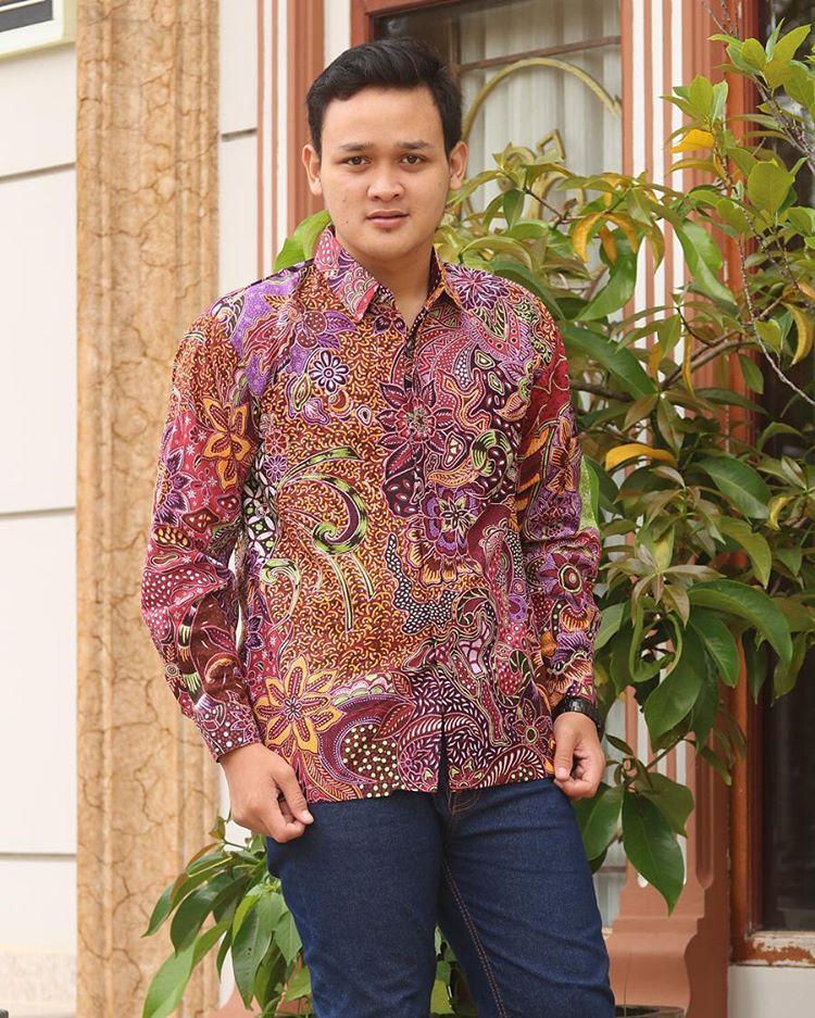kemeja batik pekalongan motif semi tulis