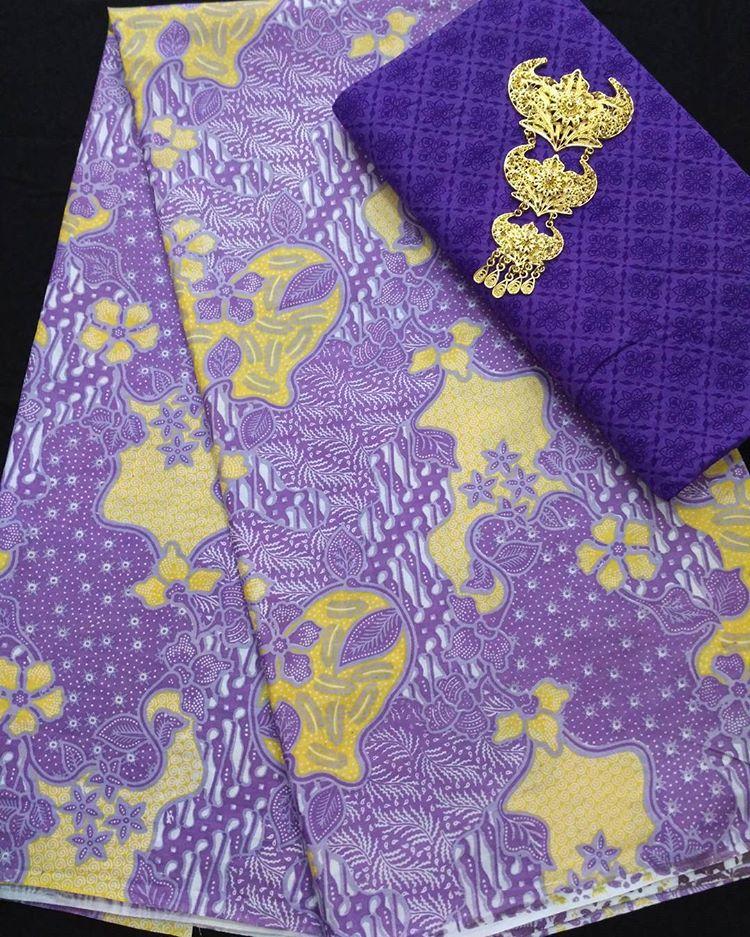 kain batik pekalongan soft pastel kombinasi embos