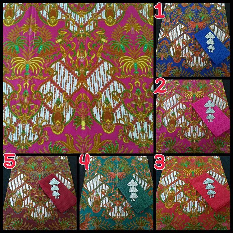 kain batik soft halus