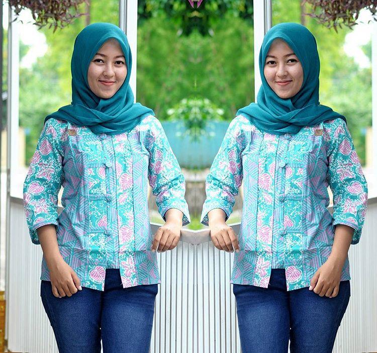 blus batik cap