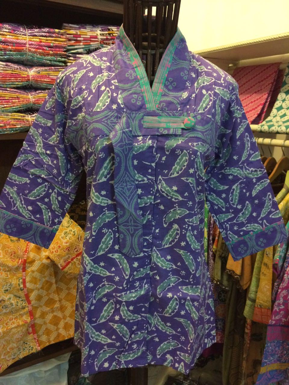 blus batik cap garutan