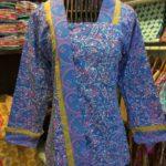 Blouse Batik Wanita Lengan Panjang – B86