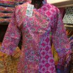 Blouse Batik Cap Wanita Kombinasi –  B87