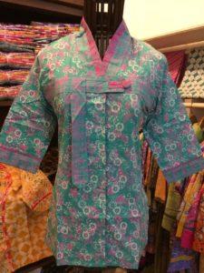 Blus Batik Wanita Model Terbaru – B88