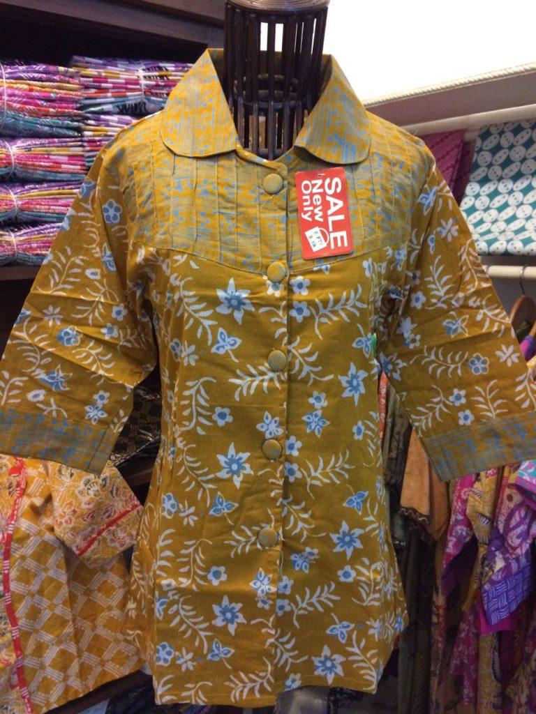 Batik Cap Pekalongan – Blus Batik Kerja – B81