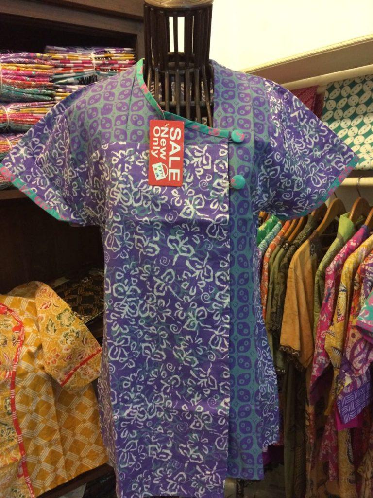Blus Batik Wanita Lengan Pendek – B84