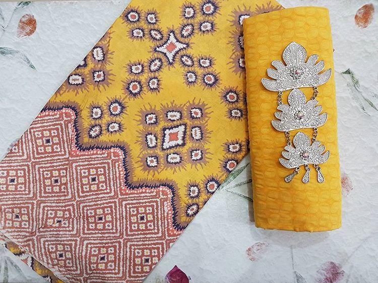 kain batik cap warna soft pastel