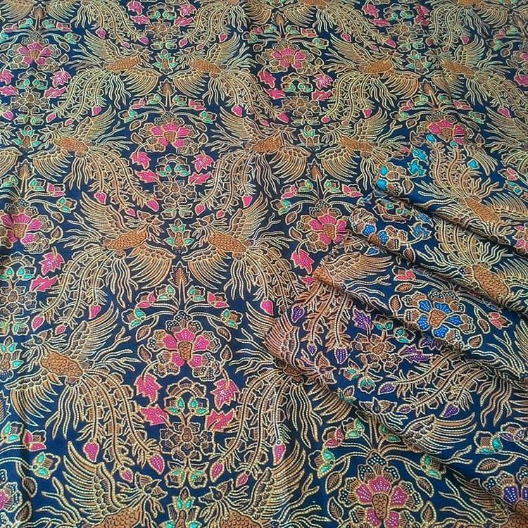 Kain Batik Pekalongan – Batik Print Sogan Cocok Untuk Seragam Batik – KA2.74