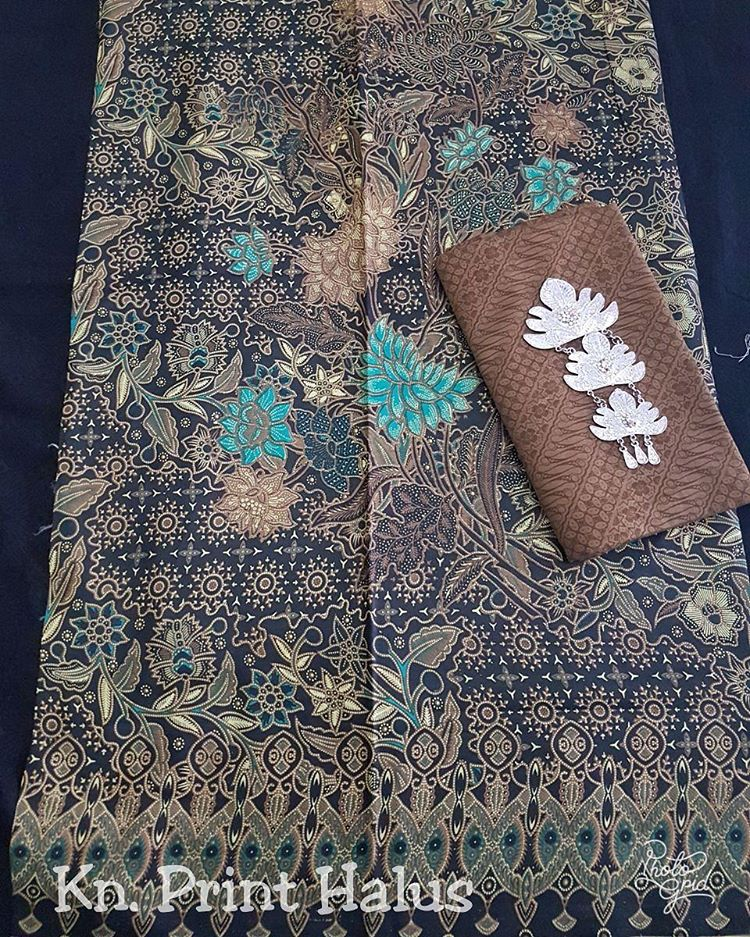 Kain Batik Pekalongan – Batik Print Halus Motif Kombinasi Klasik Modern – KA2.P-2