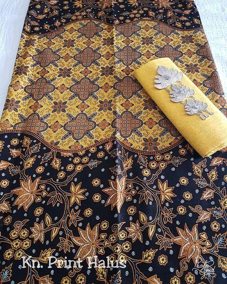 kain batik pekalongan batik print halus