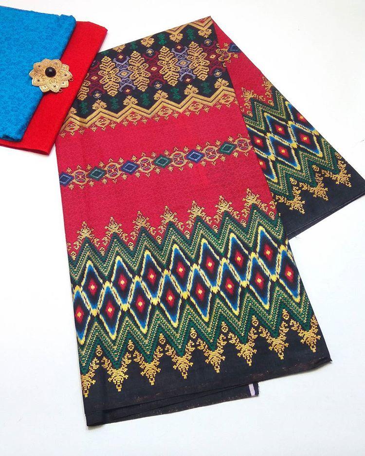 lain batik prada motif rang rang etnik kombinasi prada embos