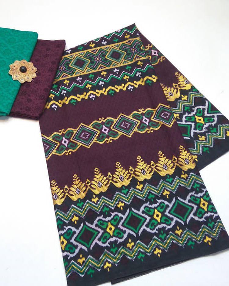kain batik prada songket