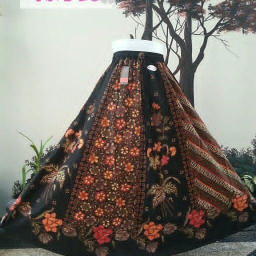 rok lilit batik cap sogan