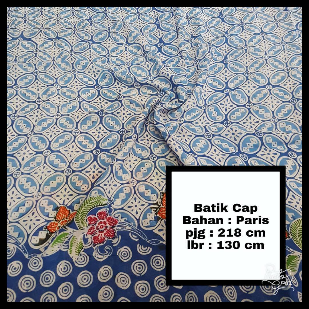 kain batik cap paris motif pilihan