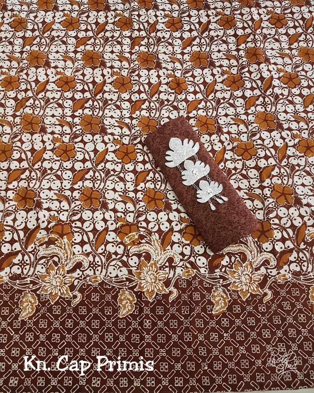 kain batik cap katun halus primis