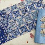 Contoh Motif Motif Batik Cap Warna Indigo Biru Terlengkap