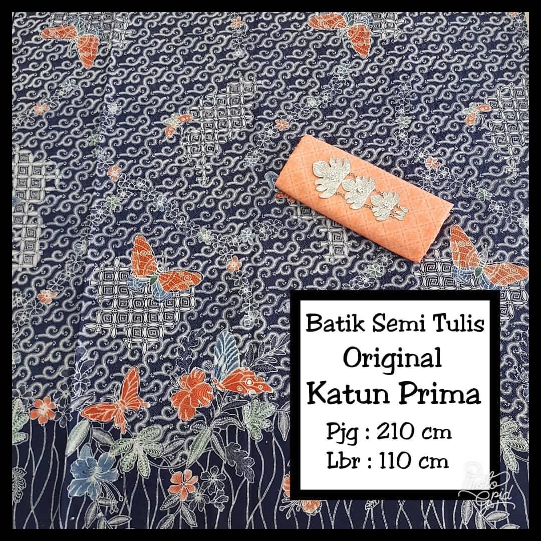 batik semi tulis proses sablon malam