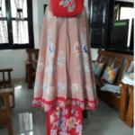 Mukena Batik Cap Halus Kombinasi Bordir – M18.3