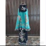 Mukena Batik Cap Motif Encim Halus Kombinasi Bordir – M18.5
