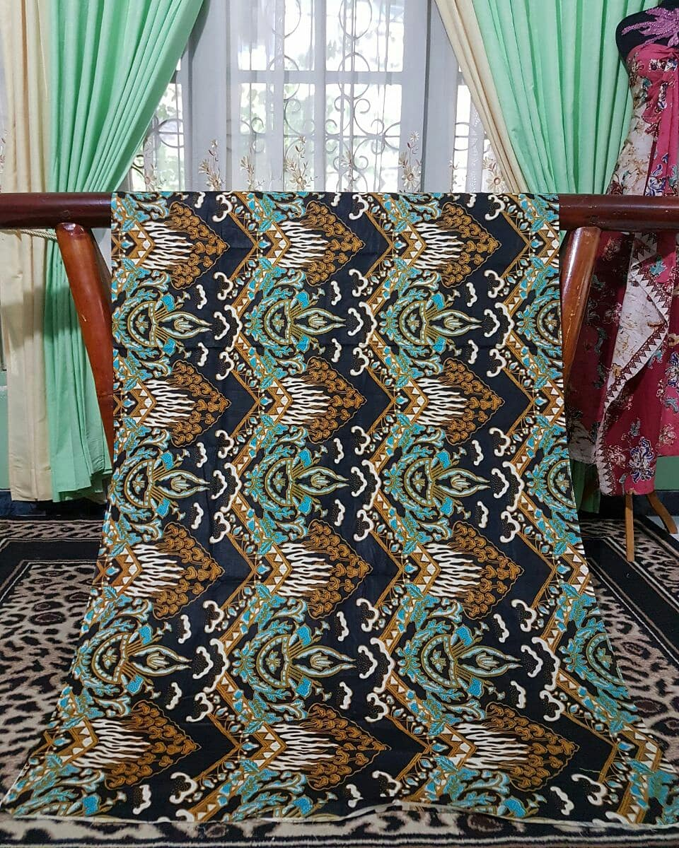 jual kain batik bahan katun untuk seragam batik