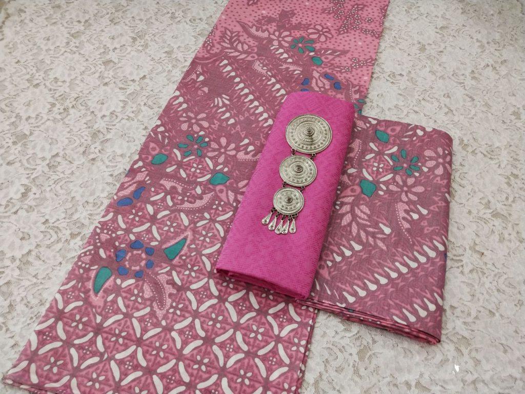 Kain Batik Pekalongan – Motif Soft Pastel Kombinasi Embos – P3-3