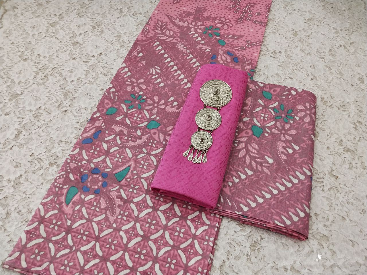 kain batik printing motif terbaik bahan katun