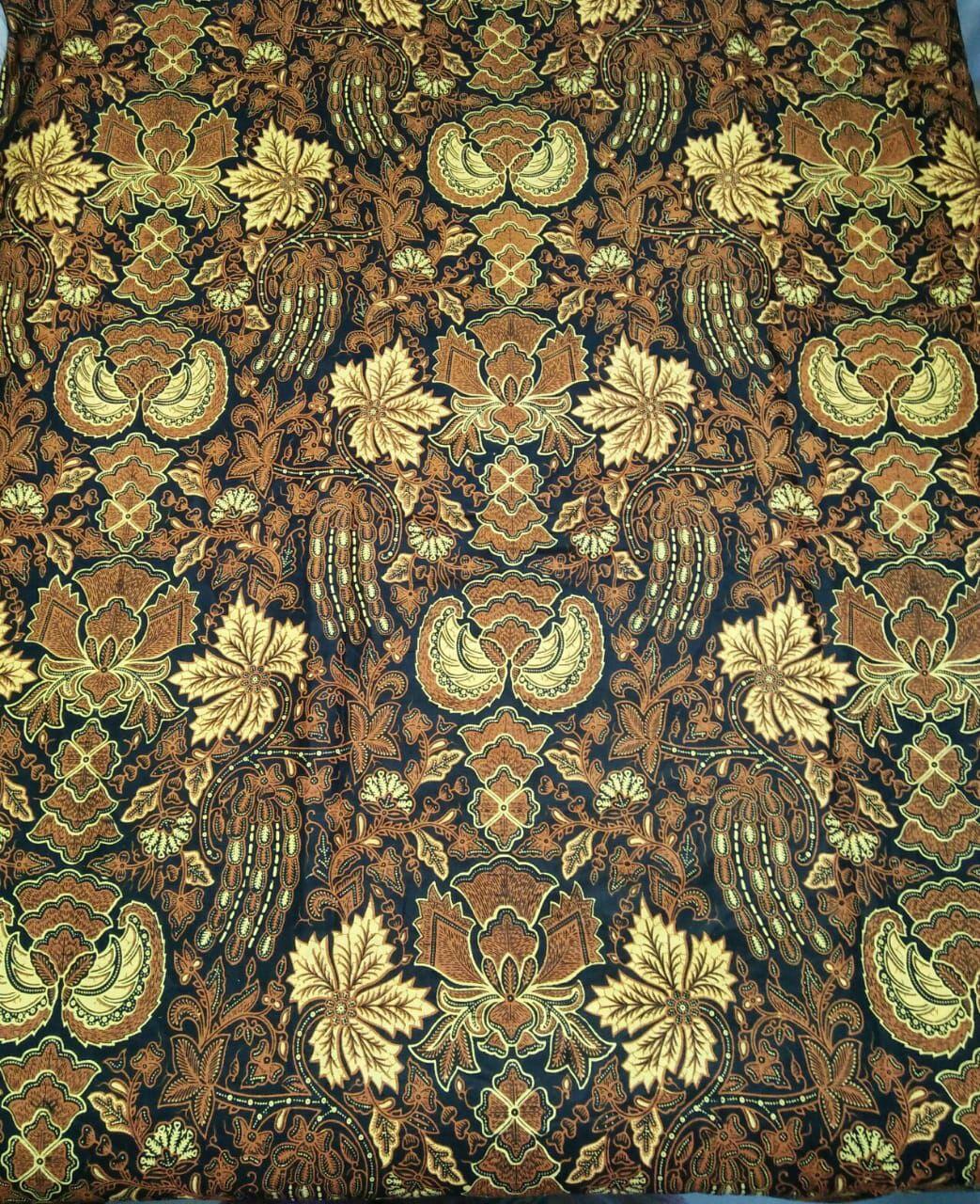 kumpulan batik sogan warna coklat hitam