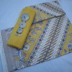Batik Pekalongan – Kain Batik Warna Soft Pastel Motif Parang Kombinasi Bahan Dobi – P3-5