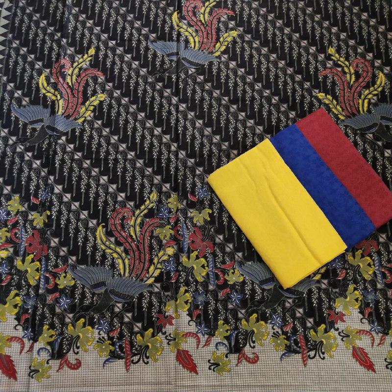 pilihan lengkap batik warna dasar hitam berbagai motif