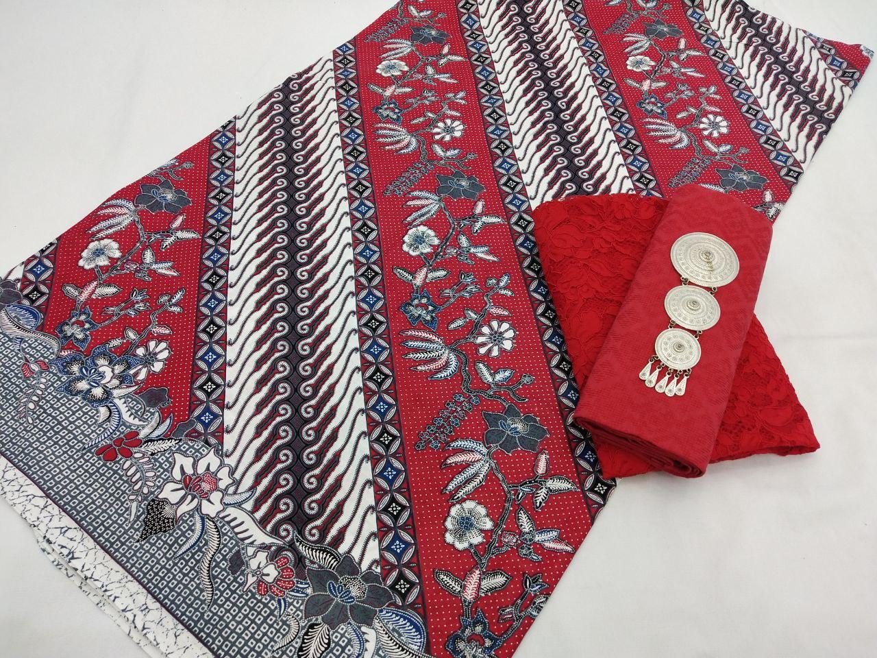 kain batik motif parang bunga