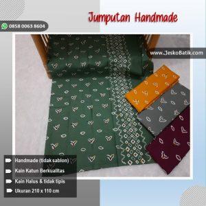 batik cap motif jumputan halus