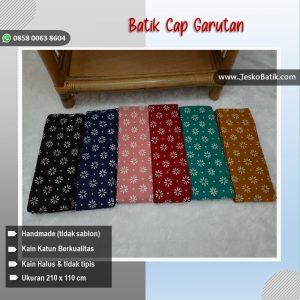 kain batik cap garutan motif truntum aneka warna