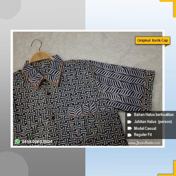 model baju batik casual terbaru