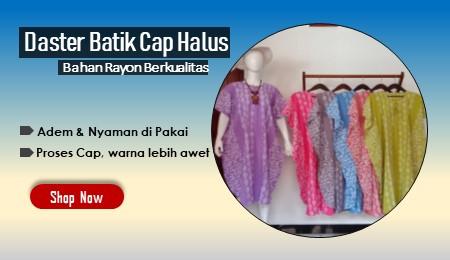Daster Batik Halus